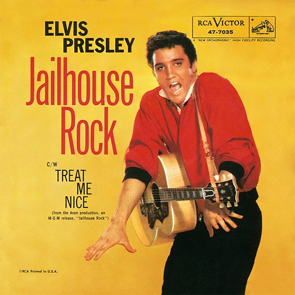 Elvis Presley's 'Jailhouse Rock' Selected For 2017 GRAMMY Hall Of Fame