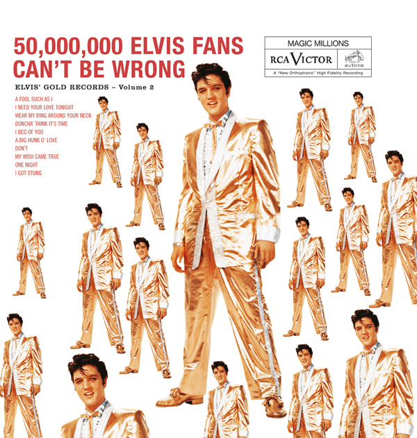 50,000,000 Elvis Fans Can't Be Wrong: Elvis' Gold Records Vol. 2