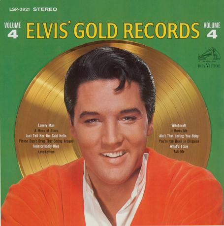 Elvis' Gold Records Vol. 4