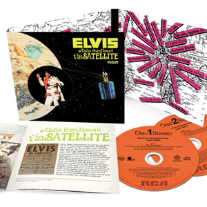 Elvis Presley's 'Aloha From Hawaii Via Satellite: Legacy Edition' Double CD Coming March 19th