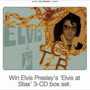 Enter To Win 'Elvis at Stax' Deluxe Edition At Taste Of Country