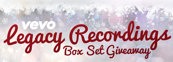 Legacy Recordings Box Set VEVO Giveaway