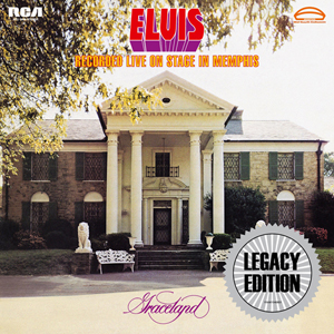Elvis Recorded Live On Stage In Memphis' 40th Anniversary 2CD Edition To Be Released March 18