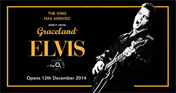Elvis At The O2: The Exhibition of His Life
