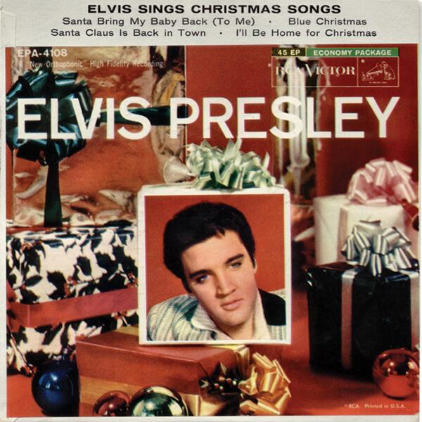 Elvis Presley Christmas Music.Elvis Sings Christmas Songs Elvis Presley Official Web