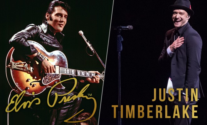 11 Ways Elvis Presley and Justin Timberlake Are Practically Twins
