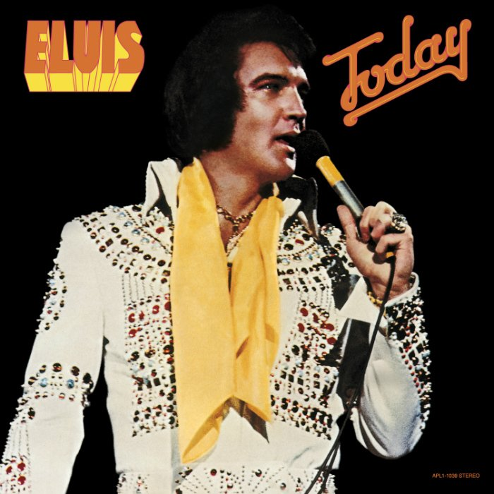 RCA/Legacy Recordings Set To Release 40th Anniversary Edition Of Elvis Presley's 'Today' on Friday, August 7, 2015