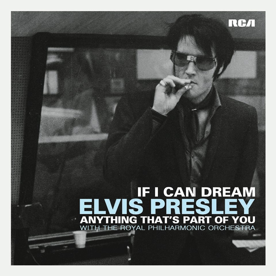 Elvis Presley - If I Can Dream / Anything That's Part of You 7-inch vinyl