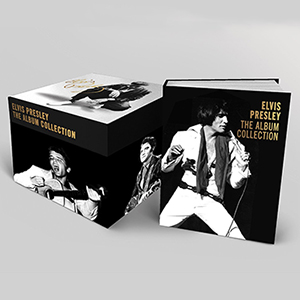 'Elvis Presley – The Album Collection' 60CD Deluxe Limited Edition Box Set March 18