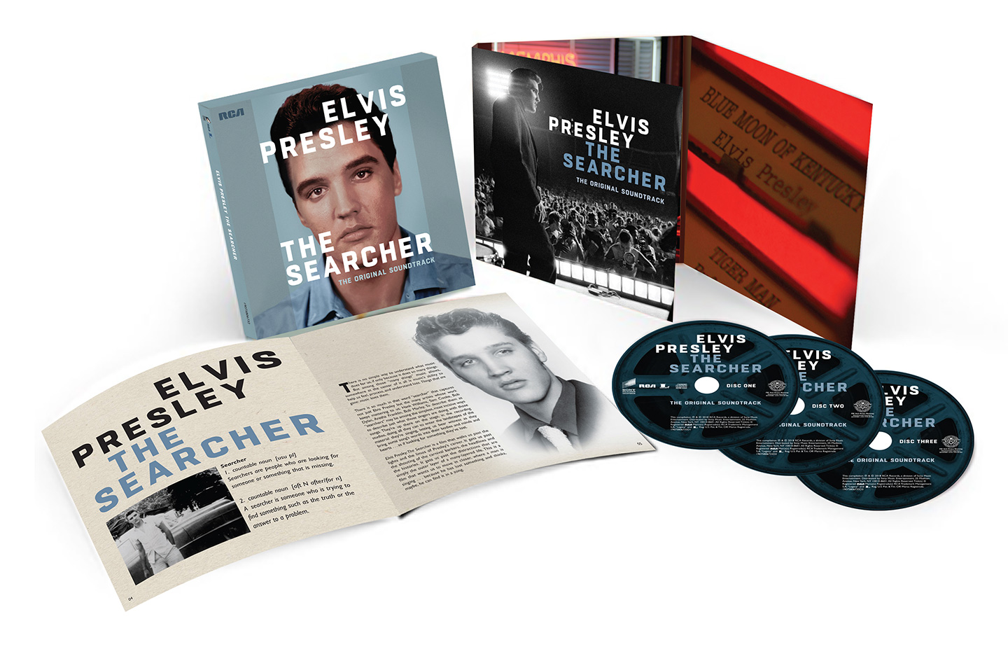 Elvis Presley: The Searcher (The Original Soundtrack) 3CD set