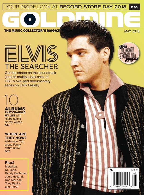 Elvis Presley in Goldmine magazine May 2018 issue