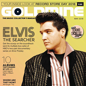 Elvis Presley In Goldmine Magazine May 2018 Cover Story