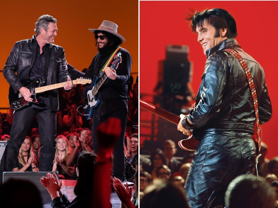 Elvis Presley and Blake Shelton Elvis All-Star Tribute