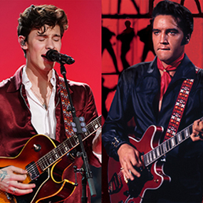 Elvis Presley and Shawn Mendes Elvis All-Star Tribute