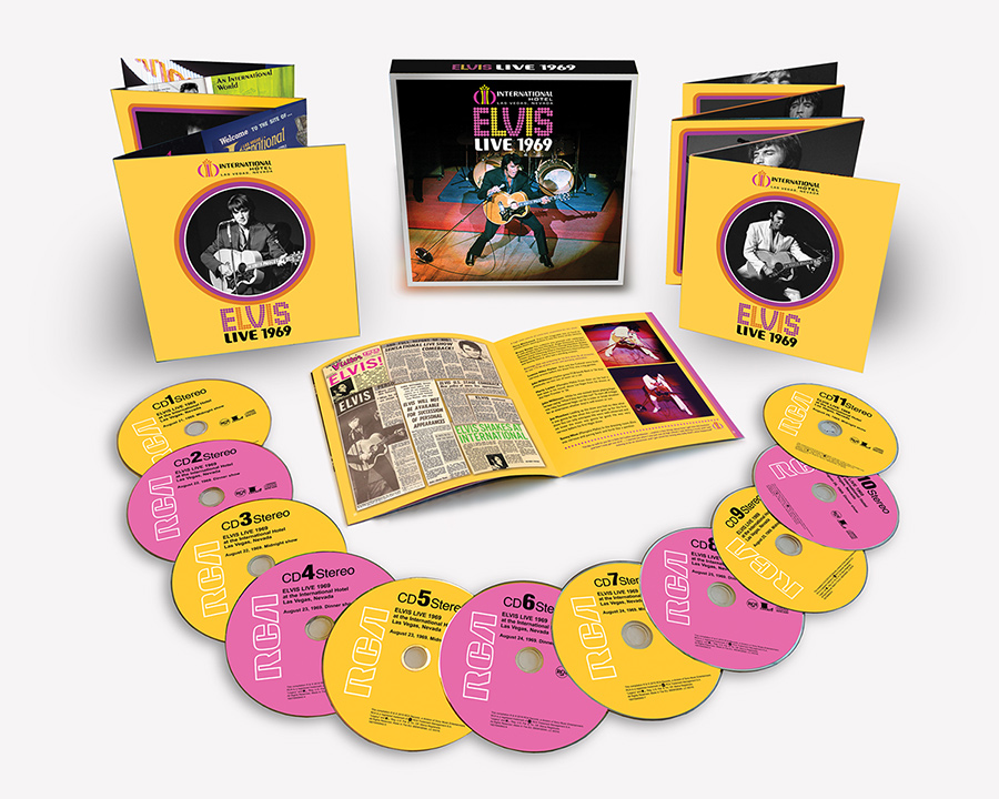 Elvis Presley 'Live 1969' Deluxe 11-CD Box Set To Be
