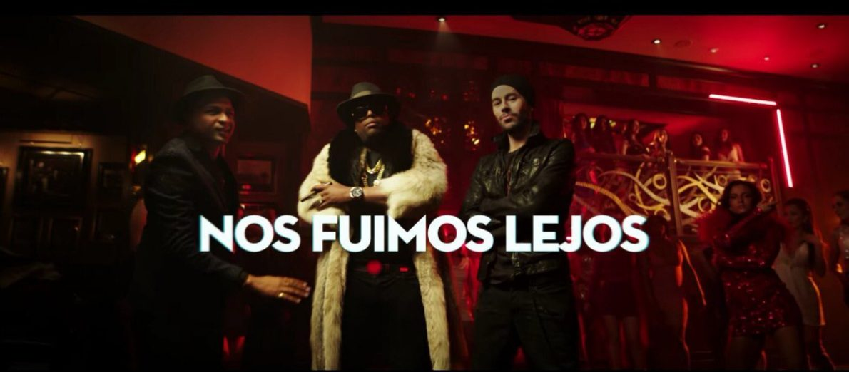HOME NEWS TOUR MUSIC VIDEOS COMMUNITY PHOTOS MERCH 40 MILLION VIEWS!! #NOSFUIMOSLEJOS image