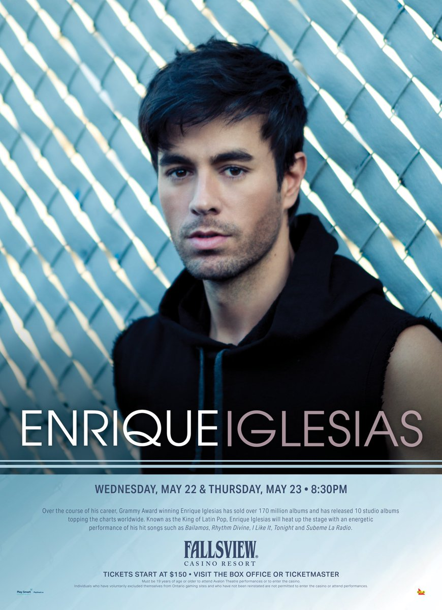 Playing two nights at the Fallsview Casino Resort on May 22nd and 23rd!! image