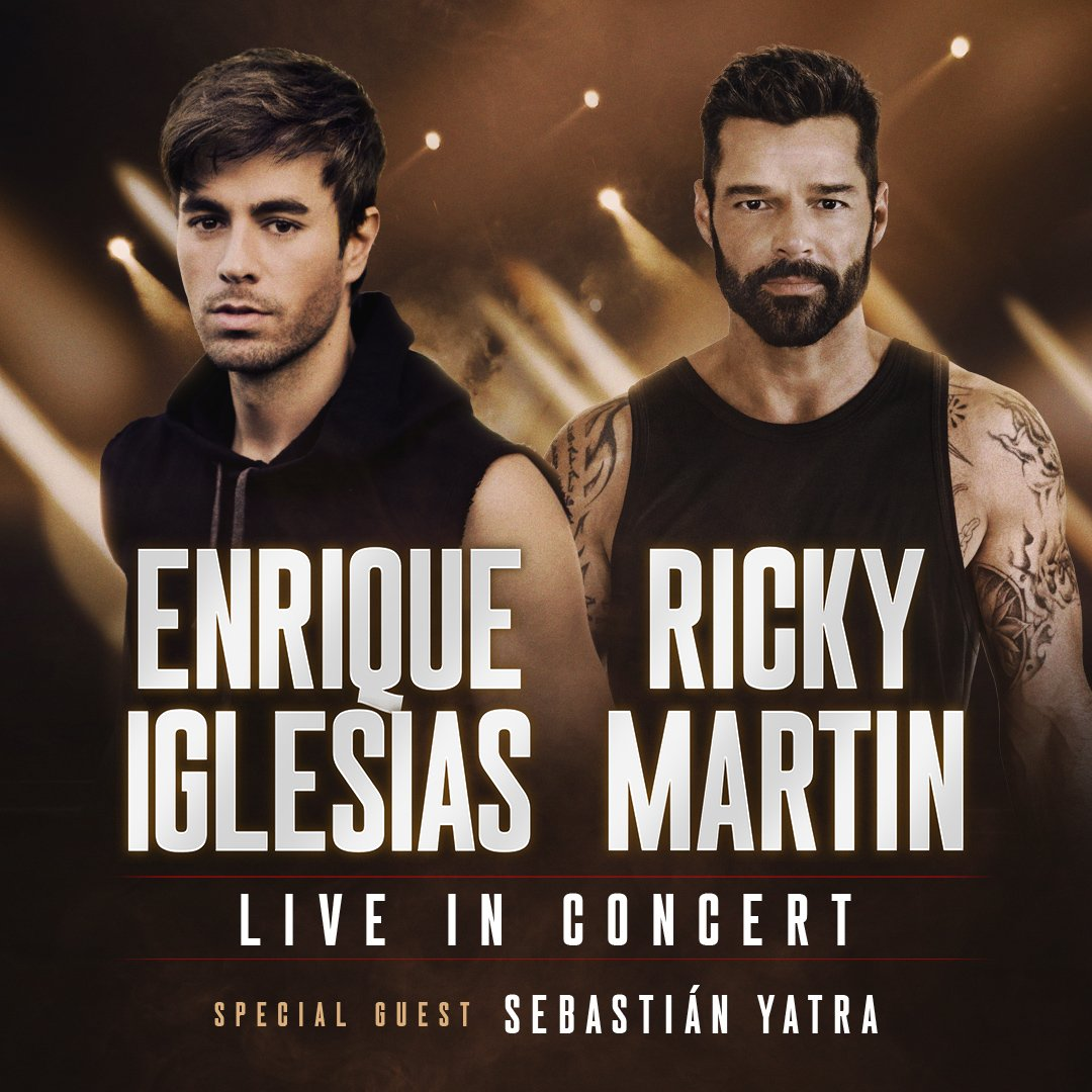 Fall 2020 Tour with Ricky Martin & Sebastian Yatra!!