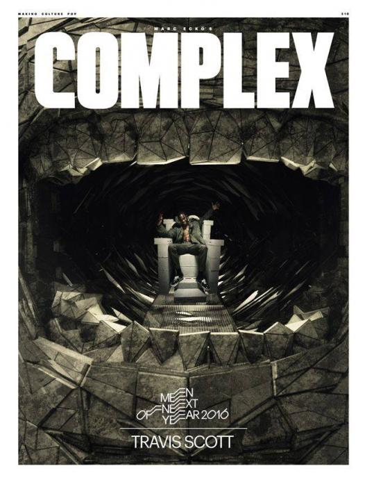 5af682f336eda Travis Scott Covers Complex Magazine Dec/Jan 2016 Issue - Epic Records