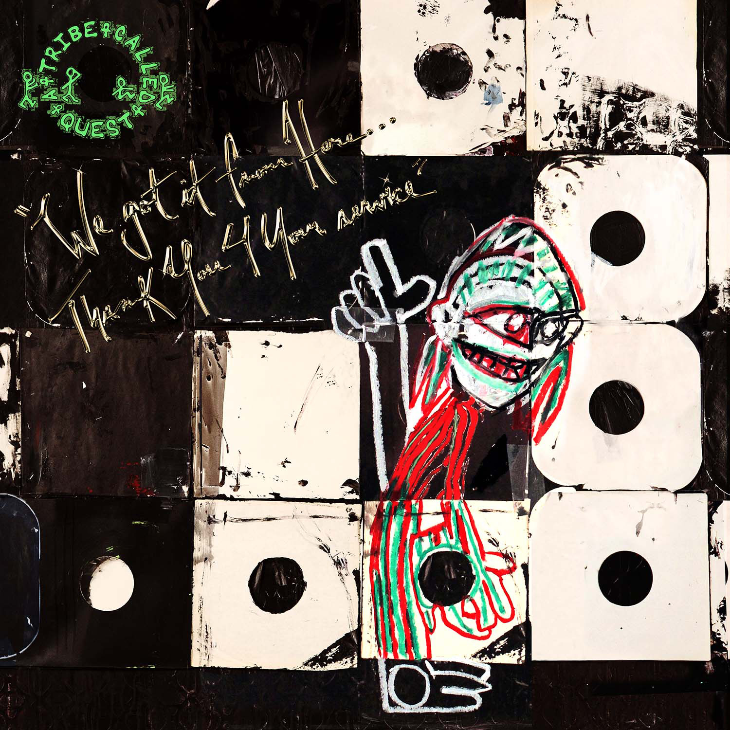 A TRIBE CALLED QUEST REUNITE ON WE GOT IT FROM HERE… THANK YOU 4