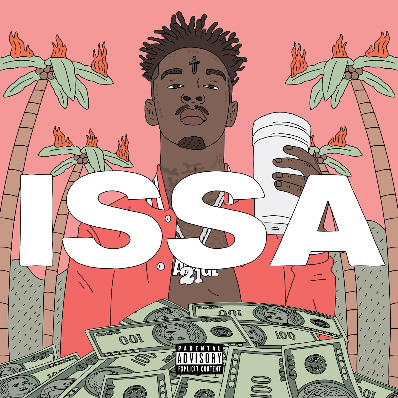 3f90194f02b97 21 SAVAGE RELEASES DEBUT ALBUM ISSA ALBUM EVERYWHERE TODAY - Epic ...