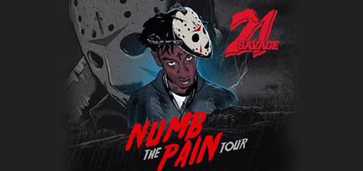 21 SAVAGE ANNOUNCES DATES FOR 2017 FALL NUMB THE PAIN TOUR