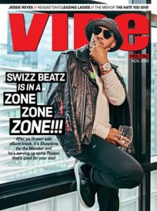 ICONIC PRODUCER SWIZZ BEATZ RELEASES NEW ALBUM POISON TODAY   COVERS VIBE MAGAZINE!