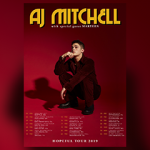 AJ MITCHELL ANNOUNCES WINTER HEADLINE TOUR
