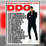 "DDG ANNOUNCES THE ""BREAKING THE INTERNET"" TOUR 2019"