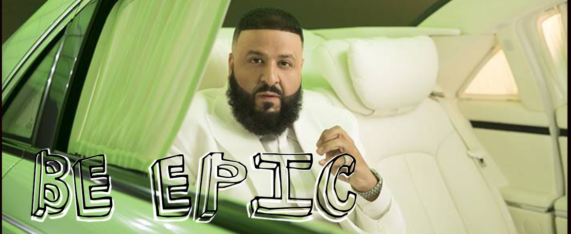 Khaled Be Epic Slider