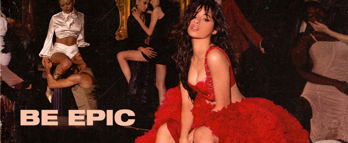 Camila Romance Be Epic Slider