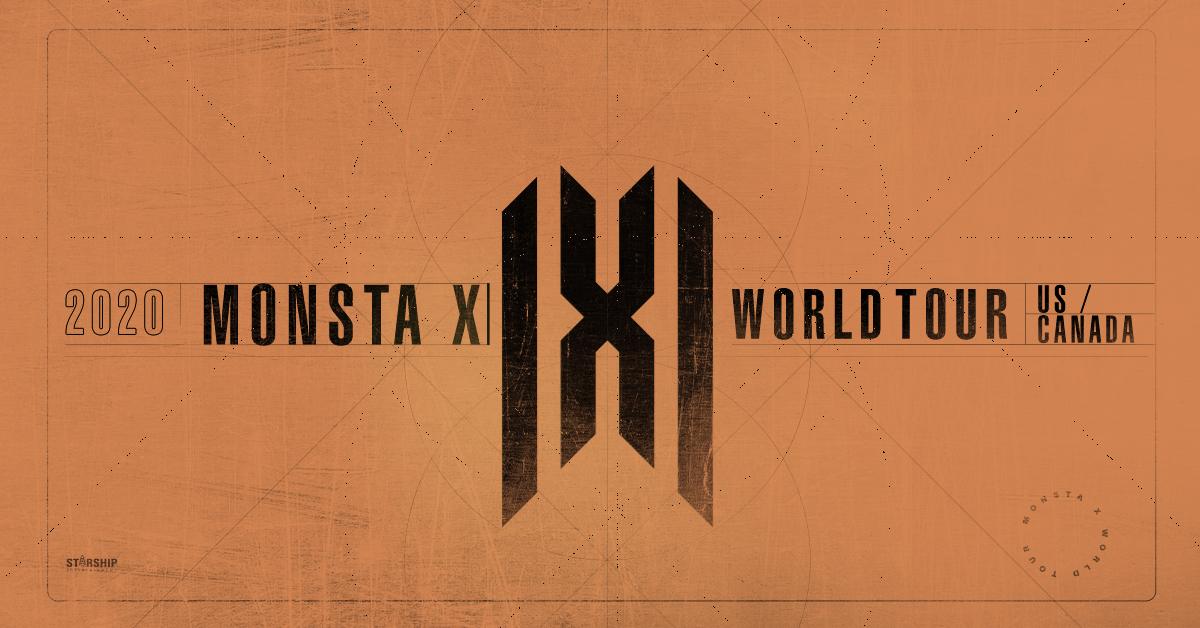 K-POP SENSATION MONSTA X ANNOUNCES SUMMER TOUR ACROSS NORTH AMERICA