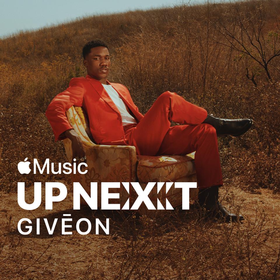 GIVĒON ANNOUNCED AS APPLE MUSIC UP NEXT ARTIST
