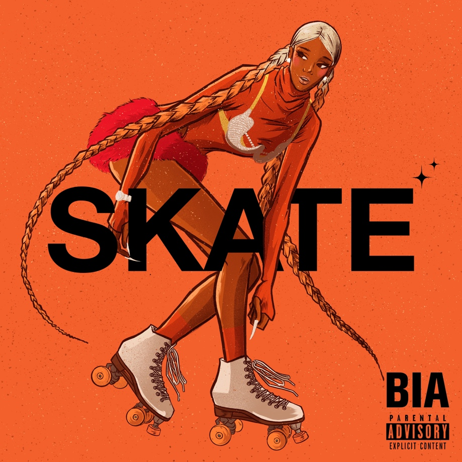 "BIA RELEASES NEW SINGLE & MUSIC VIDEO ""SKATE"""