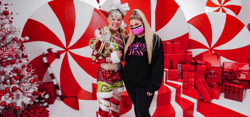 "MEGHAN TRAINOR RELEASES OFFICIAL MUSIC VIDEO FOR ""I BELIEVE IN SANTA"" STARRING JOJO SIWA!"