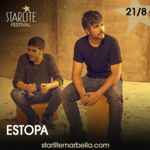 Estopa actuará en Starlite Marbella en agosto