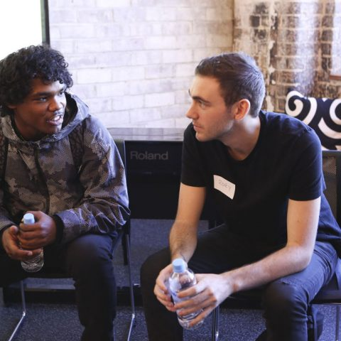 MMAD STAR Wes and Sony Music mentor Rory