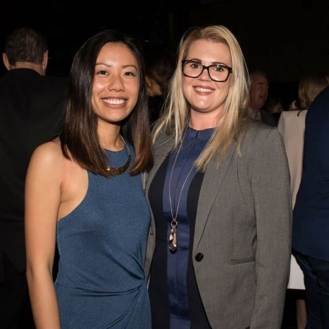 You Can Innovate grant winners Reichelle Yeo and Claire Munsie