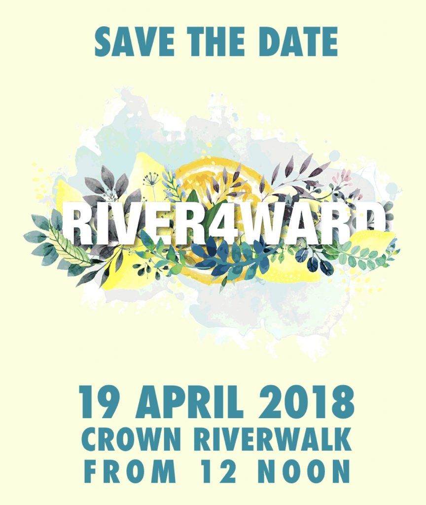 Get ready to rock the river at River4Ward 2018!