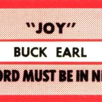 JUKE-Buck-Earl-Jukebox-Strips-Single