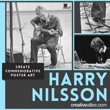 Enter To Win Harry Nilsson Commemorative Poster Contest At Creative Allies