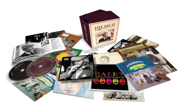 Harry Nilsson 'The RCA Albums Collection' Available Now & Getting Great Reviews!