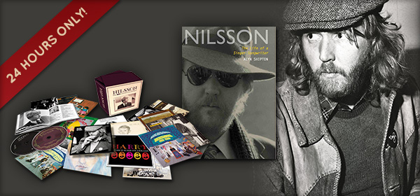 Harry Nilsson 'RCA Albums Collection' & Book Bundle On Sale At PopMarket