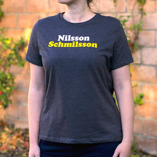 Nilsson Schmilsson T-shirts Available Now!