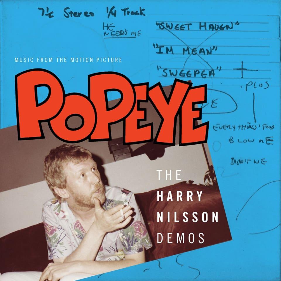 'Popeye' Harry Nilsson Demos Available On Vinyl