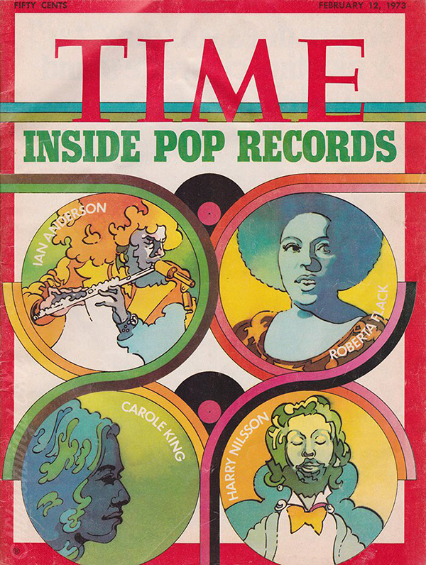 Harry Nilsson On Cover Of TIME In 1973
