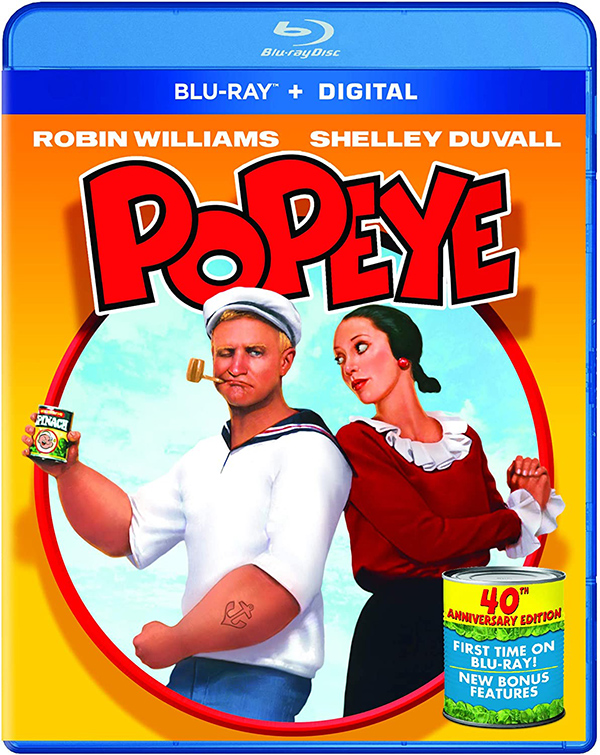 'Popeye' 40th Anniversary Celebrated With Blu-ray Release December 1