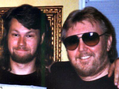 Harry Nilsson and son Zak Nine Nilsson