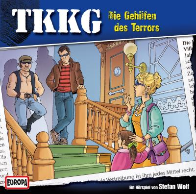 TKKG - 128: Die Gehilfen des Terrors   Physical CD Audio drama
