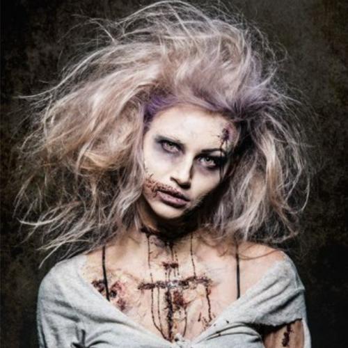 Last-Minute Zombie Make-Up